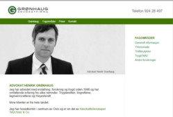 Grønhaug – Advokatfirma