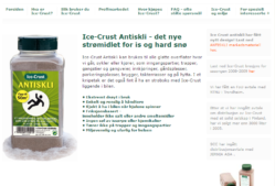 ICE.CRUST – Det nye strømidlet for is og hard snø