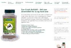 ICE.CRUST – Det nye strømidlet for is og hard snø